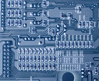 Close-up of micro circuit Royalty Free Stock Photos