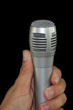 Close up microphone Royalty Free Stock Photos