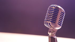 Close-up of Microphone Royalty Free Stock Photography
