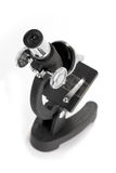 Close-up of a microscope Royalty Free Stock Images