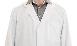 Close up mid section of a male doctor with arms hanging Stock Images
