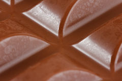Close-up of milk chocolate Royalty Free Stock Image