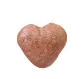 Close up of milk chocolate heart shape Stock Photo