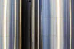 Close-Up Milk Tanks. Close-up photo of stainless steel milk tanks for a cheese factory Stock Photography