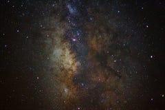 Close - up Milky Way galaxy, Long exposure photograph Stock Photography