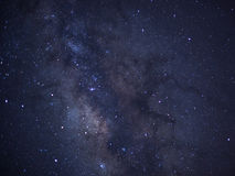 Close-up of Milky Way, Taken via star tracker, low noise high quality Royalty Free Stock Photography