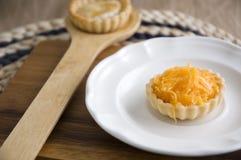 Close up mini sweet pie Stock Images