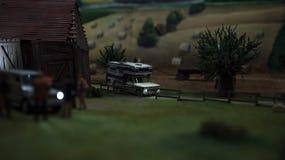 Close up of Miniature world Stock Photo