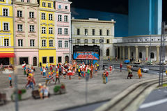 Close up of Miniature world Stock Photography