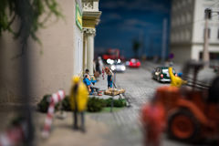 Close up of Miniature world Stock Images