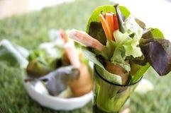 Close up mix veggie roll Stock Photos