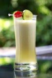Close up mixed fruit juice Royalty Free Stock Photo