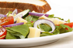 Close-up of a mixed salad Royalty Free Stock Images