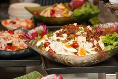 Close up of mixed  salad Royalty Free Stock Images