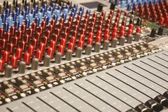 Close-up of a Mixer Stock Photography