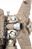 Close up of 8mm Film Projector. Stock Image