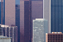 Close up of modern buildings in urban setting Stock Photos