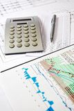 Close up of modern business office details Stock Images