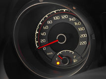 Close up of a modern car dashboard Royalty Free Stock Photos