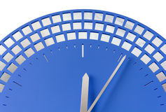 Close-up of Modern Clock Stock Photo