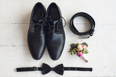 Close up of modern man accessories Stock Photography