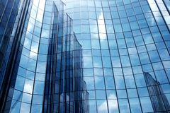 Close-Up modern office building.building with copy space stock image