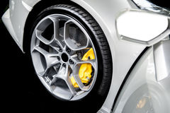 Close up of a modern sport wheel Stock Image