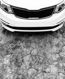 Close up moderno da capa do carro Fotos de Stock Royalty Free