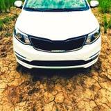 Close up moderno da capa do carro Imagens de Stock