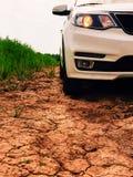 Close up moderno da capa do carro Fotos de Stock