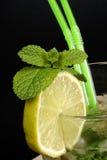 Close-up of Mojito cocktail Royalty Free Stock Photos