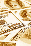 Close-up money dollars background Royalty Free Stock Photography