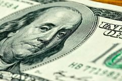 Close-up money dollars background Royalty Free Stock Photo