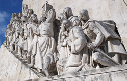 Close Up Monument to the Discoveries Stock Photos
