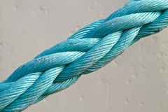 Close up of a mooring rope Royalty Free Stock Image
