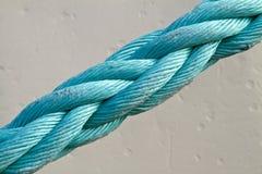 Close up of a mooring rope Royalty Free Stock Image