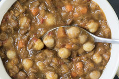Close up Moroccan Stew Royalty Free Stock Photography