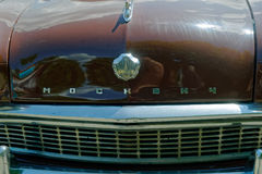 Close up of Moskvich 407 vintage car - Stock image Stock Photography