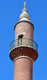 Close up of mosque minaret Stock Images