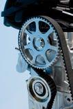 Close up motor a combustão interna fotografia de stock