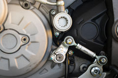 Close up Motorcycle Royalty Free Stock Photos