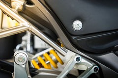 Close up Motorcycle Stock Images
