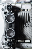Close up of motors part Royalty Free Stock Images