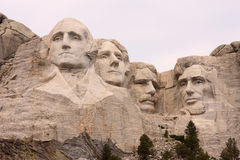 Close-up of Mount Rushmore, Black Hills, Utah Stock Photos