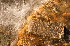Close-up of moving water Royalty Free Stock Images