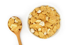 Close up of muesli Royalty Free Stock Photos
