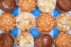 Close up of muffins Royalty Free Stock Images