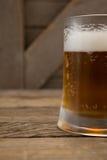 Close-up of mug of beer Stock Photography