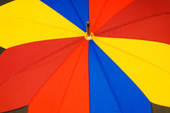 Close up of multi sector umbrella Royalty Free Stock Photography