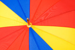 Close up of multi sector umbrella Stock Photo